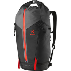 Haglöfs Katla Roll-Top 30 Daypack True Black/Habanero